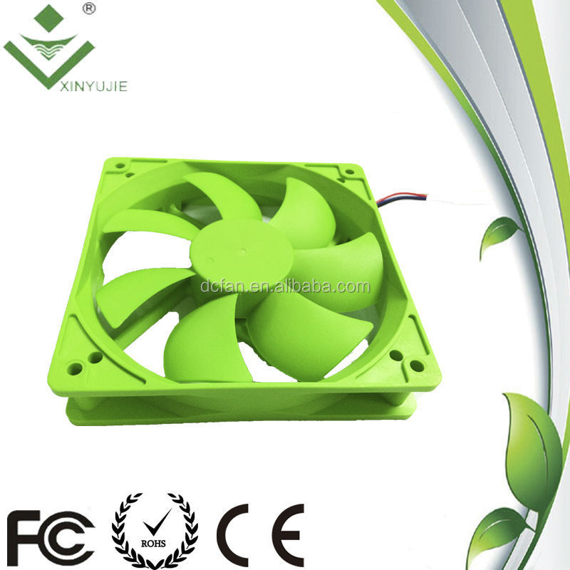 Build-in Cpu Water Cooling System 120mm DC Fan 24v 0.3a 120mm with LED
