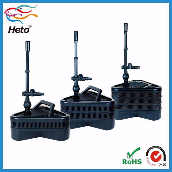 Uv light pond fountain pump filter garden pond filter for Pond filter system with uv light