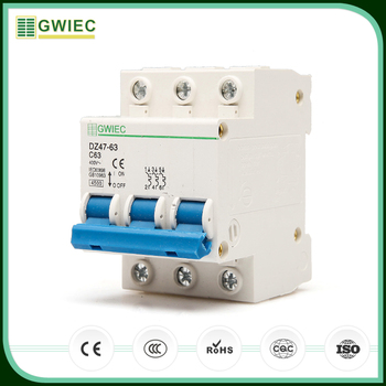 Gwiec China Products Cheap Ce Electrical 3 Phase Mini Circuit ...