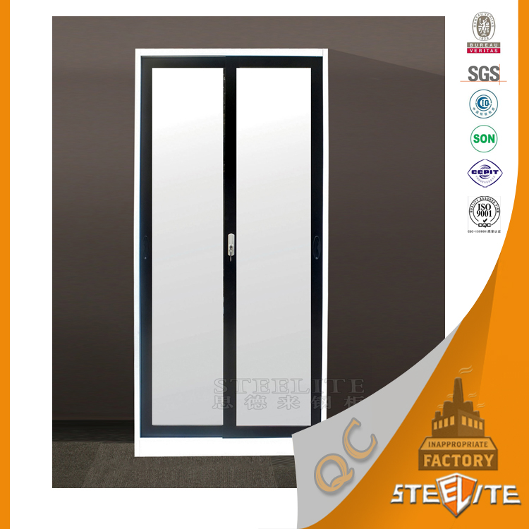 2016 New Design Sliding Door Clothes Cupboard Bedroom Furniture Wardrobe With Mirror