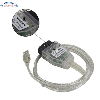 Inpa K+can With Ftdi Ft232rq Chip With Switch K+d Can Usb Obd Interface  Inpa Compatible K-line Protocol - Buy Inpa K+ Can Cable,Ft232rq,Obd  Interface