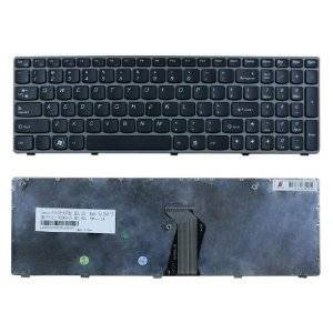 Original NEW IBM Lenovo Ideapad Z560 Z560A Z565 Z565A black Keyboard US Frame