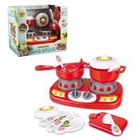 Wholesale kids pretend play kitchen toy set, gas stove toy set