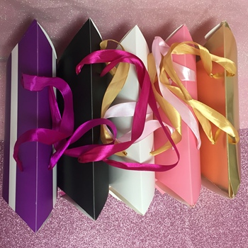 pillow gift box with custom logo pillow box hair extensions