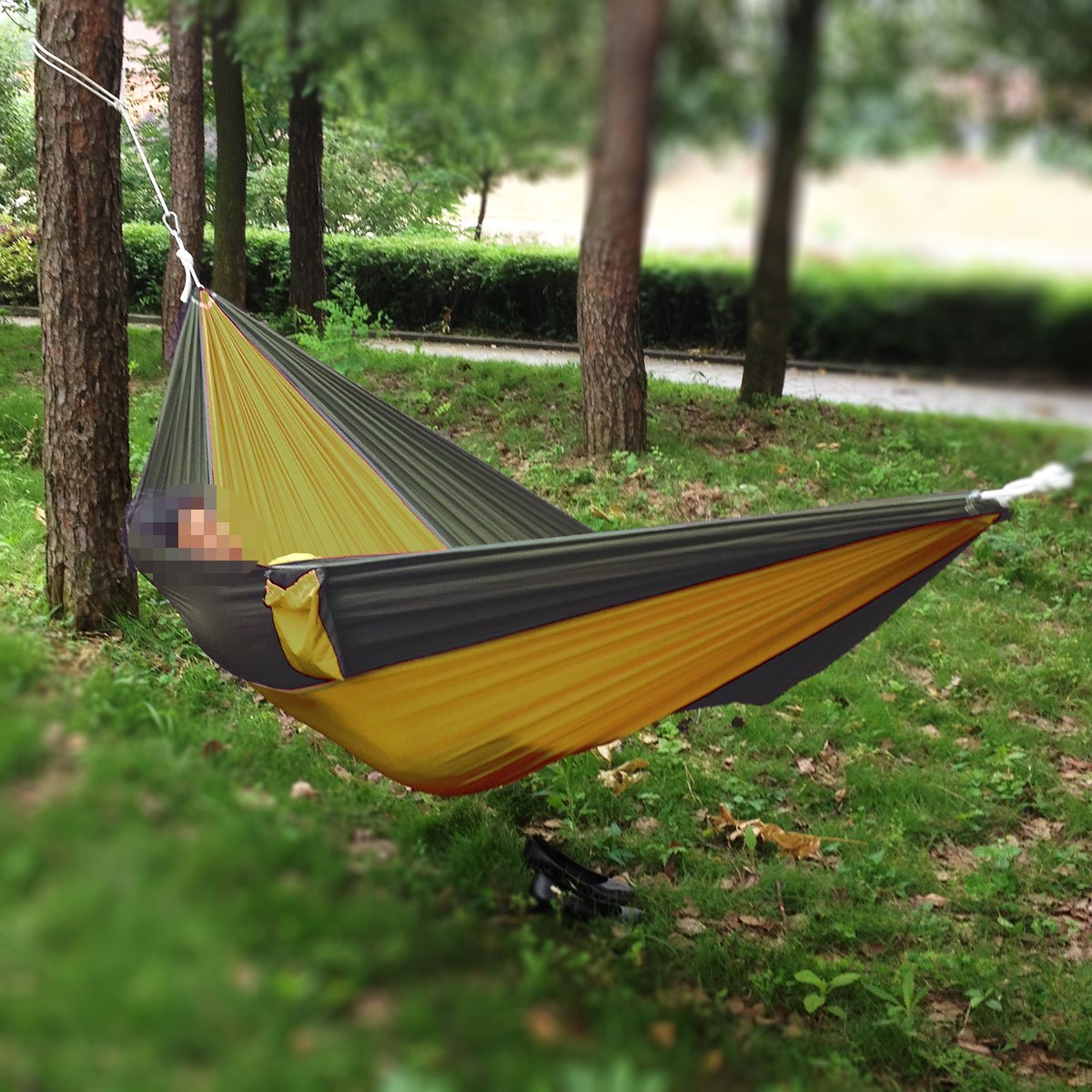 get quotations    portable  pact siesta single person parachute nylon camping hammock nest for travel hiking cheap  pact hammock find  pact hammock deals on line at      rh   guide alibaba