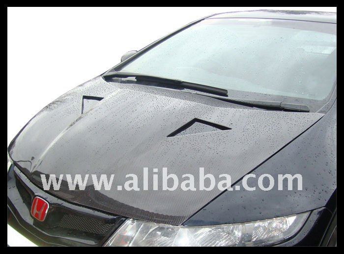 carbon hood to honda civic 06 FN2 Look mugen