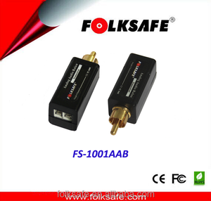 Folksafe audio and video extender wireless lan no USB wifi FS-1001AAB analog audio balun