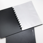 D-181 ArchivalPRO A4 displaybook super clear pockets show album 20 pocket clear book