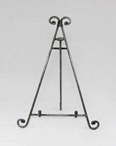 Easels, Decorative Easels from Easels by Amron, 13 Inches High (Iron)