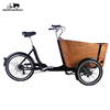 2019 new style urban electric cargo bike adult electric tricycle for sale