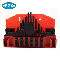 58 piece set steel clamp support plate for CNC machine tools