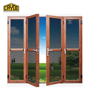 Sliding Screen Door Aluminum Profile Stop Insects Mosquito Garage