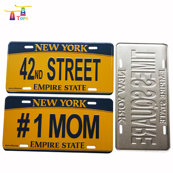 Find License Plate Number By Name >> Souvenir Blank Usa New Product Custom Embossing Name Embossed Jdm Plates Pakistan Aluminum License Turkey Car Number Plate Buy Turkey Car Number