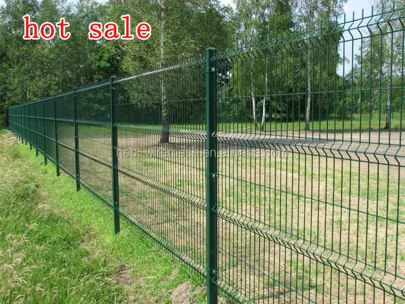 Steel Wire Mesh Fence Panel 3d Bending Welded Mesh Fence - Buy ...