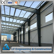 Cheap prefabricated steel structure car garage