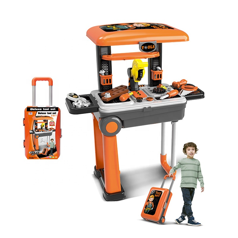 American Like Popular Retailer Luggage Kids Play Plastic Tool Set <strong>Toy</strong>