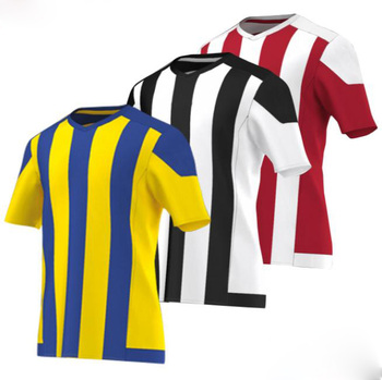 ecc82e293 football club team football uniforms quality customized soccer jersey  sublimated striped soccer jersey made in china