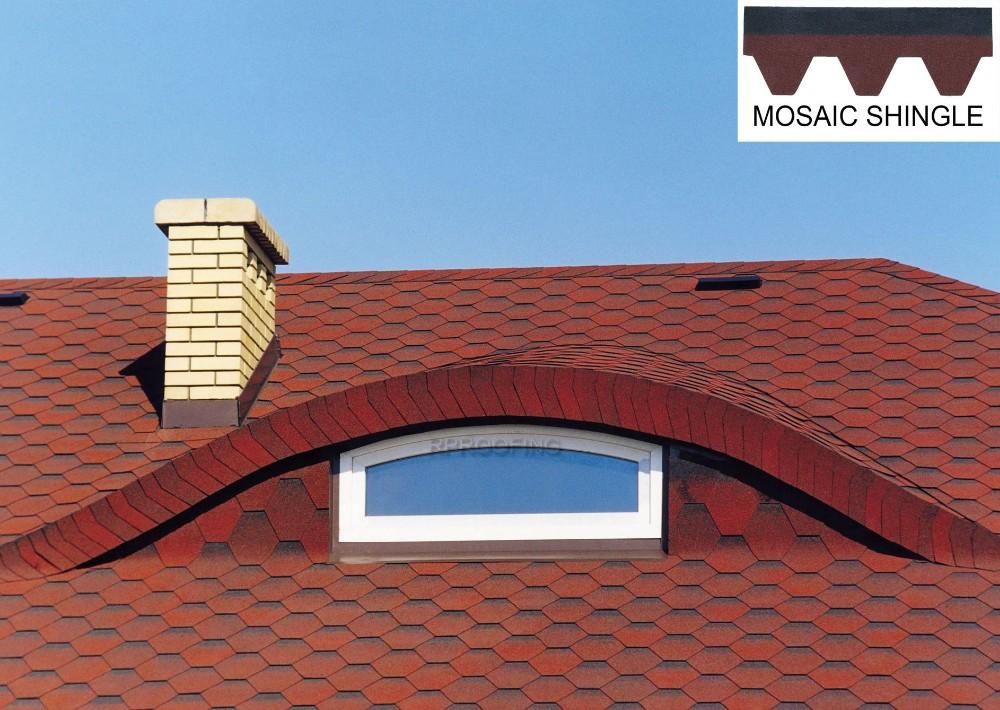 Colorful Mosaic Asphalt Roof Shingles Manufacturers,Shingle Roof ...