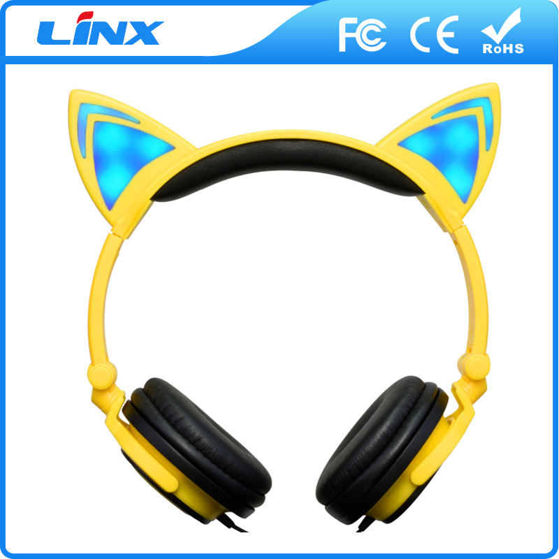 Professional fashionable &amp colorful headphone mobile phone handset with mic of CE and ISO9001 standard