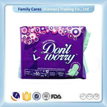 Winged Regular Sanitary Napkins for Lady
