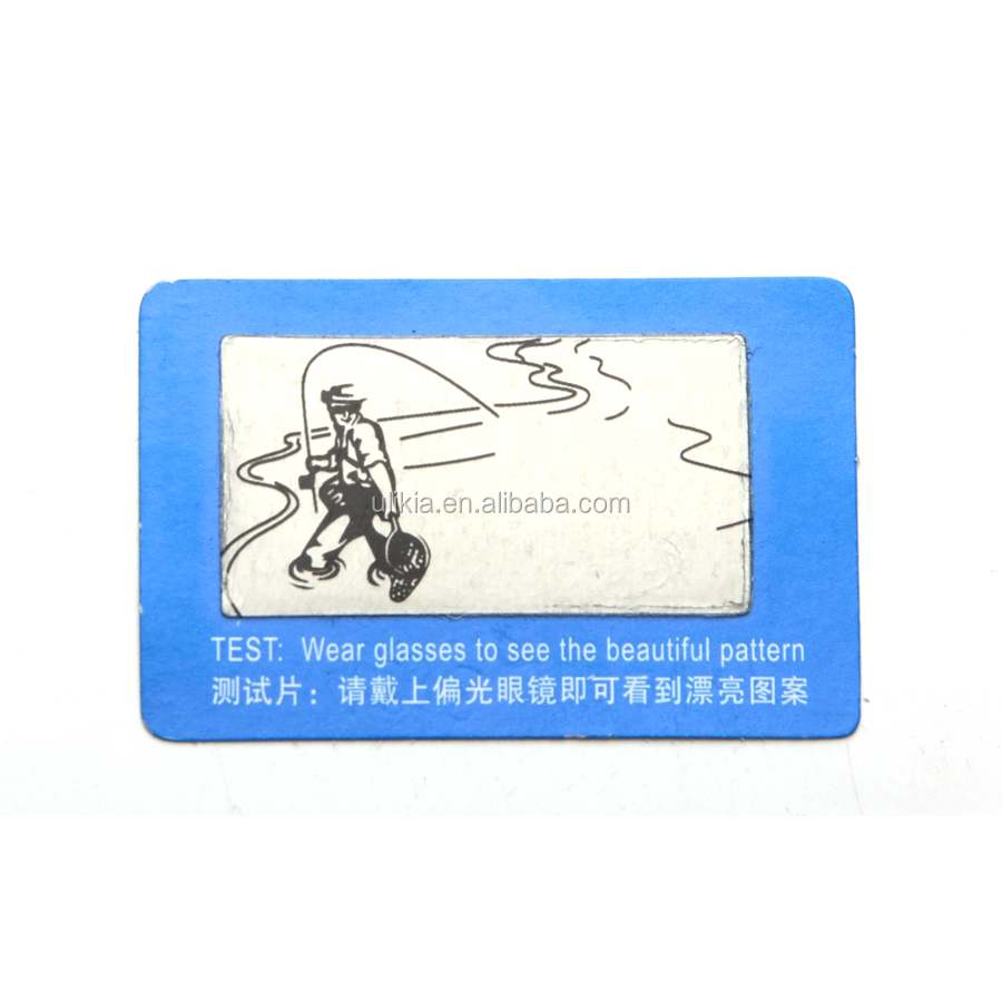 9b48f4377ded7 Faça cotação de fabricantes de Óculos Polarizados Cartão De Teste de alta  qualidade e Óculos Polarizados Cartão De Teste no Alibaba.com