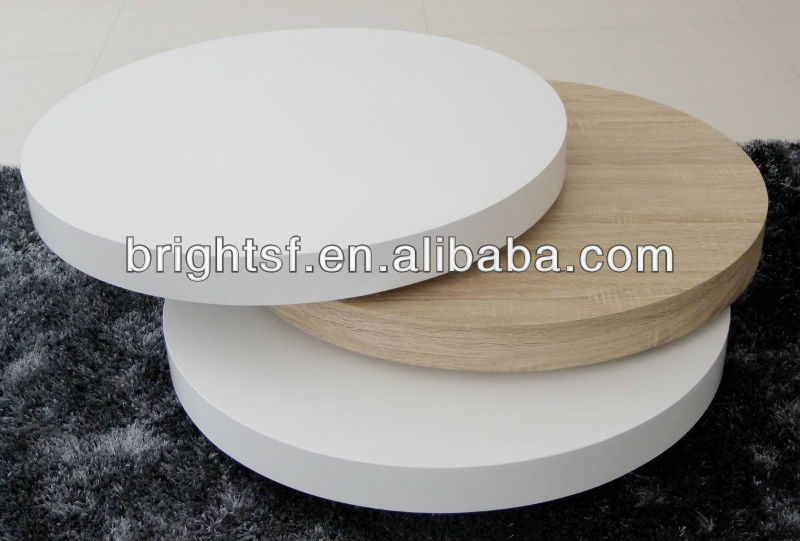 Round Rotating Coffee Table, Round Rotating Coffee Table Suppliers And  Manufacturers At Alibaba.com
