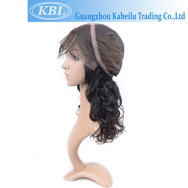 Active demand football fan wigs hair,silicone for wig making,new coming soft no shedding no tangle wavy kippa fall wig