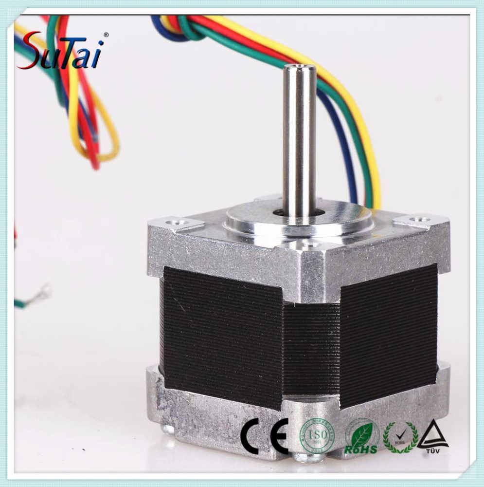 2 Phase 4 Wires NEMA14 Nema Stepper Motor , 35BYGH Stepper Motor for Medical Instrument ST35H402