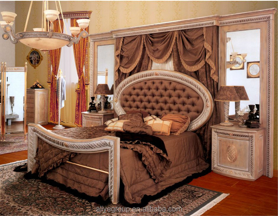 AAS20100-Oriental Furniture Bed Room Set Chinese Queen Size Bed Room Set