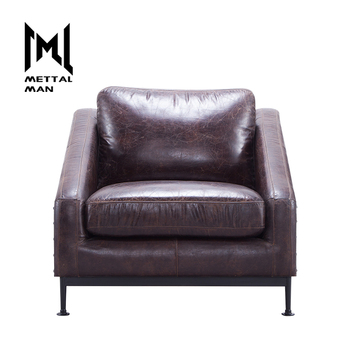 Surprising Mettal Man Genuine Leather Living Single Chairs For Living Room Cozy Armchair Tub Chair Buy Cozy Armchair Single Chairs For Living Room Living Chair Machost Co Dining Chair Design Ideas Machostcouk