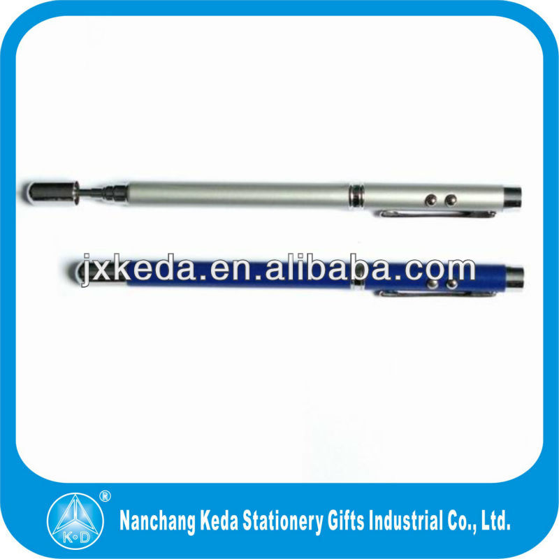High Quality ball pen 3 in 1 multifunction ir led pen pointer pen