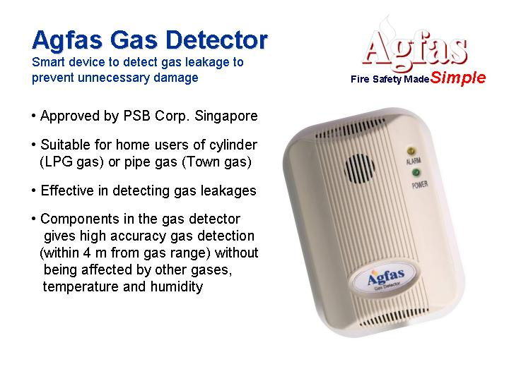Agfas Gas Detector