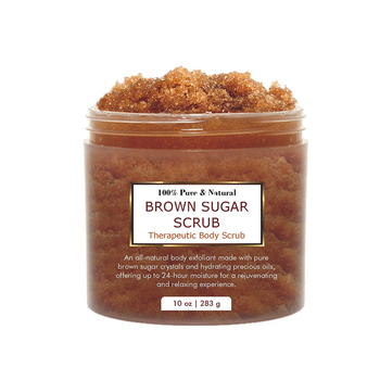 100% Natural Best For Acne And Cellulite Brown Sugar Body Scrub