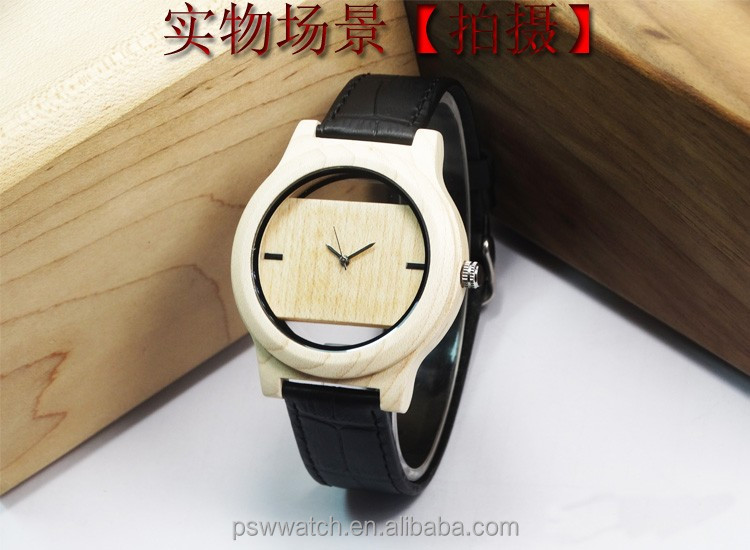 new year promotion wood watch no brand luxury wood watch sandal