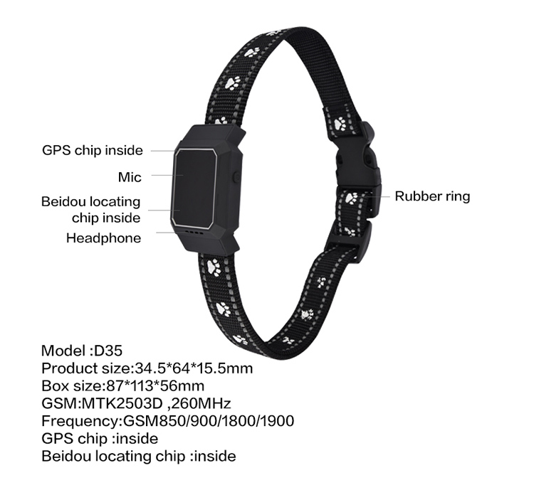 Termurah Denyut Jantung 2G D200 dengan Jatuh Alarm GPS untuk Lebih Tua