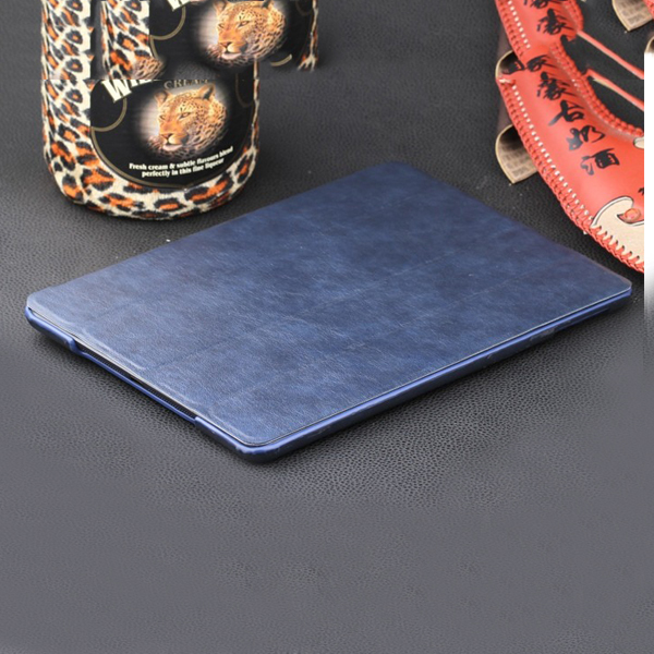 full color Pure leather <strong>case</strong> for ipad