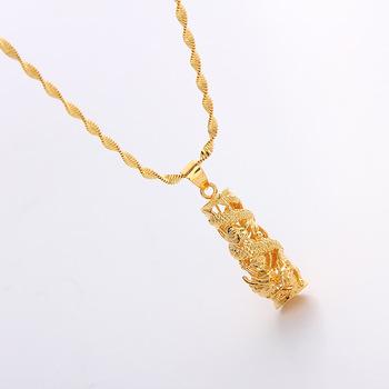 Wholesale best selling fashion dragon pendant real gold filled wholesale best selling fashion dragon pendant real gold filled necklace aloadofball Choice Image