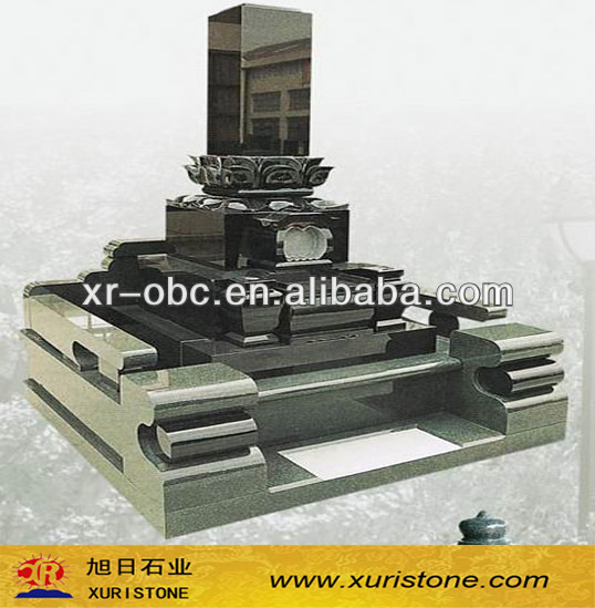 G654 Sesame Dark Granite tombstone & monuments