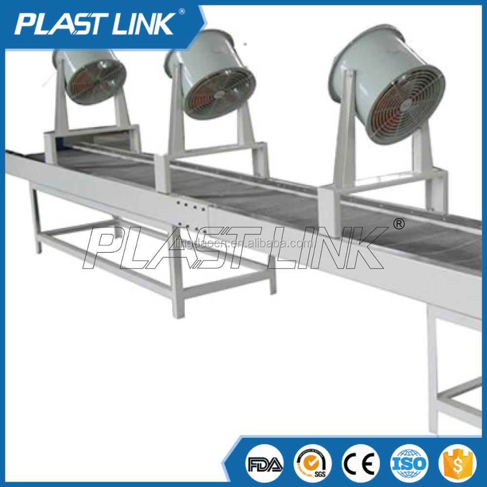 Plast Link Wire Mesh Food Cooling Fan Conveyor Belt Machine Low ...