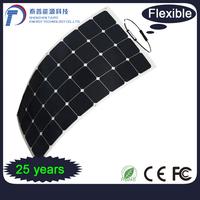 Alternative Energy 250W High Efficient Mono Semi Flexible Solar Panel