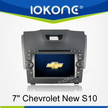 chevrolet new s10 car dvd player gps with 3 or 5 days delivery