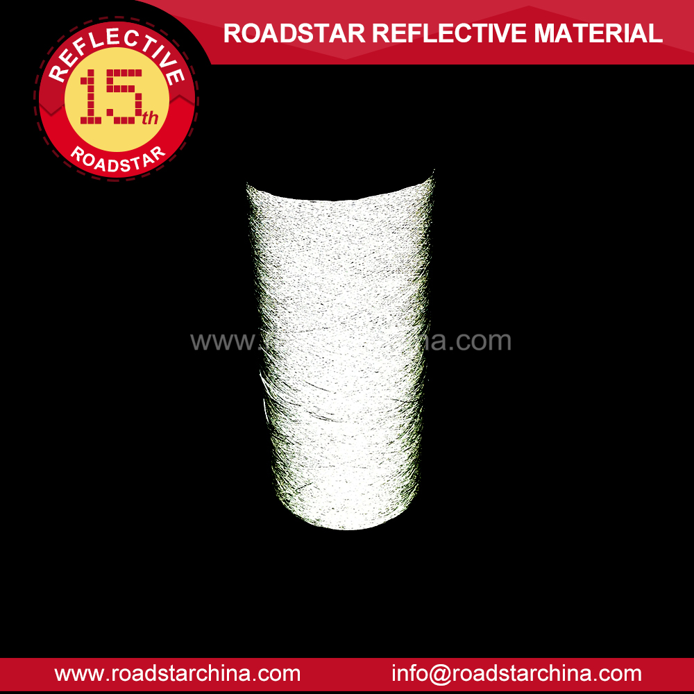100% polyester Reflective embroidery Yarn for Sewing,7000meters per roll,sample order accept
