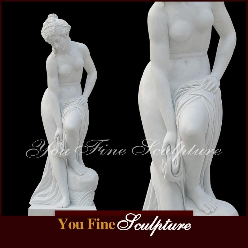 Секс имитация со статуями