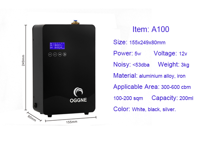 Hot seller home aroma diffuser machine 200ml automatic working scent air device