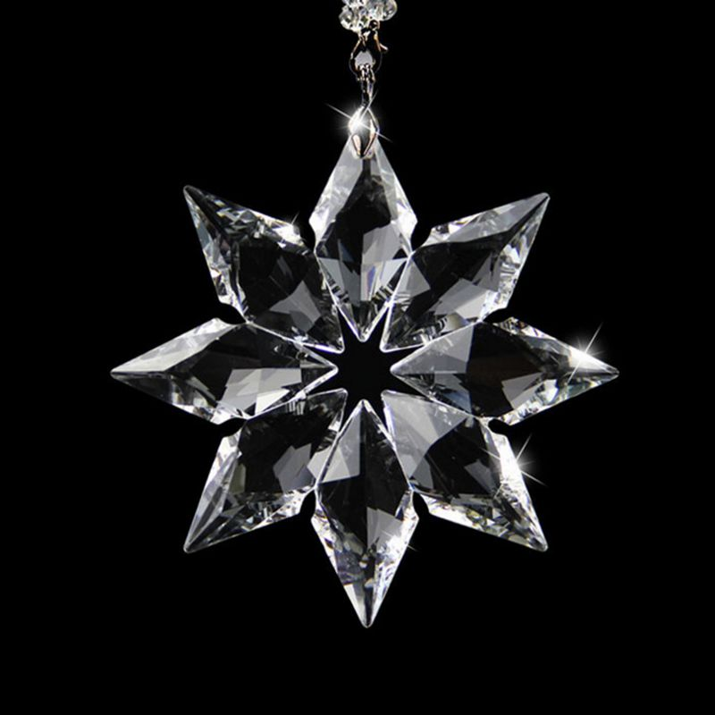 various shape crystal snowflake for Car decoration