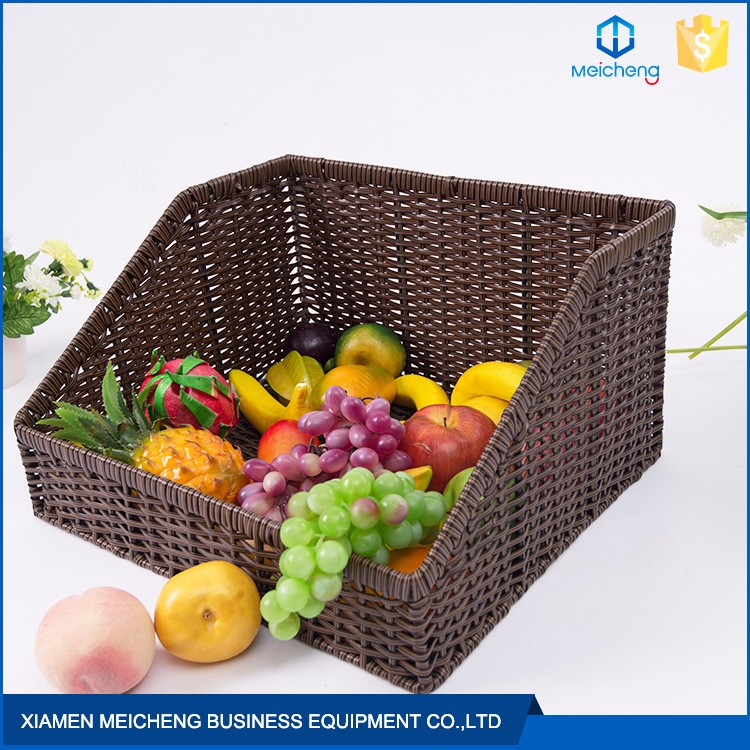 New Design Multifunction Fruit Rattan Various Kinds Of Baskets
