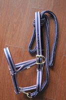 Tri-Linear Horse Halter With Lead Rope
