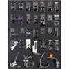 32pcs Presser Feet Set ,32pcs Domestic Household Sewing Machine Presser Foot Feet Kit