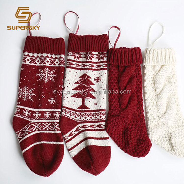 Cable Knit Christmas Stockings.A400 Cable Knit Christmas Stocking Ribbed Cuff Christmas Stocking Classic Christmas Stockings Buy Classic Christmas Stockings Ribbed Cuff Christmas