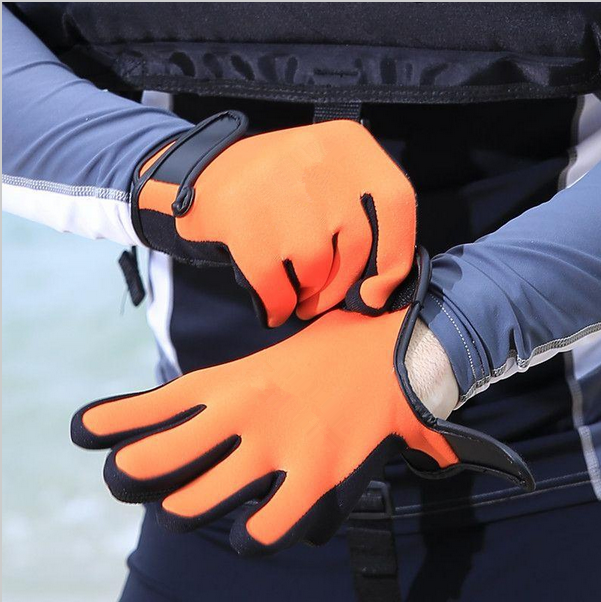 Wholesale Neoprene Diving Gloves High Quality Gloves for Swimming Keep Warm Swimming Diving Equipment